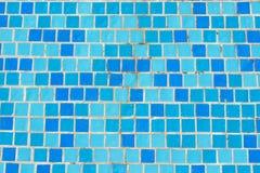 Azulejo de mosaico en piscina Fotografía de archivo libre de regalías