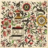 Azulejo del Chinoiserie fotos de archivo