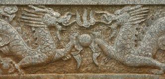 Azulejo del dragón Foto de archivo