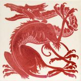 Azulejo del lustre del Victorian imágenes de archivo libres de regalías