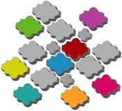 Azulejo del pavimento Imagen de archivo