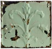 Azulejo del techo de Antiue Foto de archivo libre de regalías