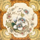 Azulejo del Victorian Imagen de archivo libre de regalías