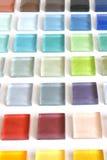 Azulejo del vidrio de la colección Imagenes de archivo