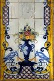 Azulejo em Lisboa Fotografia de Stock