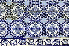 Azulejo em Porto Fotografia de Stock