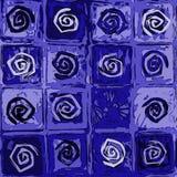 Azulejo espiral ilustración del vector