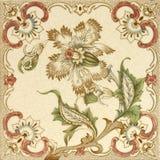 Azulejo floral del aerosol foto de archivo libre de regalías