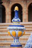 Azulejo Glazed Finial Stock Images