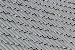 Azulejo gris del metal Imagen de archivo libre de regalías