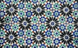 Azulejo-Hintergrund Stockfotos