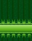 Azulejo horizontal de la raya de bambú Fotos de archivo libres de regalías