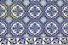 Azulejo i Porto arkivbild