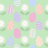 Azulejo inconsútil de Pascua Fotografía de archivo libre de regalías