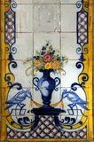 Azulejo in Lisbon Stock Photography