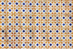 Azulejo in Lisbon Stock Photo