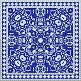 Azulejo mediterráneo libre illustration