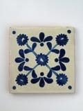Azulejo mexicano cuadrado Foto de archivo