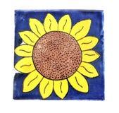 Azulejo mexicano cuadrado Imagen de archivo