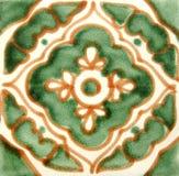Azulejo mexicano cuadrado Fotografía de archivo