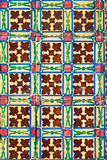 Azulejo - Old Ceramic Tile Background Stock Image