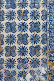 Azulejo - Old Tile Background Royalty Free Stock Photography