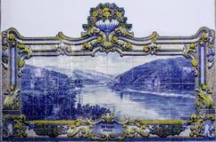 Azulejo płytki, Portugalia zdjęcie royalty free