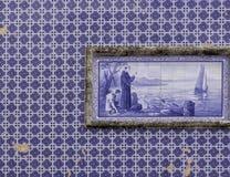 Azulejo płytki, Portugalia zdjęcie stock