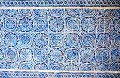 Azulejo płytki, Portugalia obraz stock