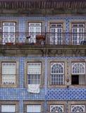 Azulejo płytki, Portugalia zdjęcia stock
