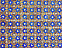 Azulejo pattern background Royalty Free Stock Photos