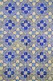 Azulejo pattern. Background in Lisbon Stock Photos