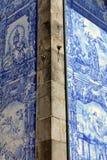 Azulejo in Porto. Azulejo (wall tile) in the city of Porto, Portugal Royalty Free Stock Images