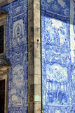 Azulejo in Porto Stock Image