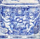 Azulejo в Porto Стоковые Изображения
