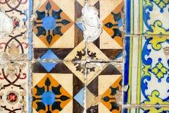 Azulejo Portugal mozaiki płytka obrazy royalty free