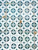 Azulejo - portuguese ceramic Royalty Free Stock Photo