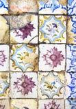 Azulejo - portuguese ceramic Royalty Free Stock Images