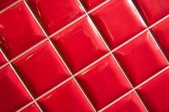 Azulejo rojo Fotografía de archivo libre de regalías