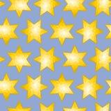 Azulejo tallado inconsútil del fondo de la estrella Foto de archivo