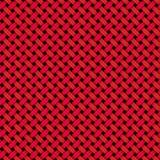 Azulejo tejido negro rojo Imagenes de archivo