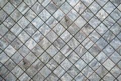 Azulejo, textura-cinzento sem emenda quadrado escuro, revestimento da telha Imagens de Stock