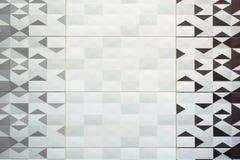 Azulejo, textura-cinzento sem emenda quadrado escuro, revestimento da telha Fotos de Stock