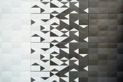 Azulejo, textura-cinzento sem emenda quadrado escuro, revestimento da telha Fotos de Stock Royalty Free