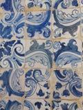 Azulejo tiling - Португалия Стоковое Изображение