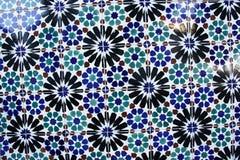 Azulejo - tin-glazed, ceramic tilework, Portugal Stock Photos