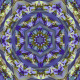 Azulejo (Zellige) majolica mosaic arabesque. Geometric patterns glazed tiles. High resolution detailed graphic pattern illustratio Stock Image