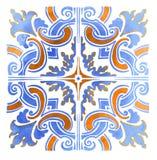 Azulejos葡萄牙人水彩 图库摄影