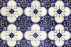 Azulejos, πορτογαλικά κεραμίδια Στοκ εικόνες με δικαίωμα ελεύθερης χρήσης