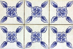 Azulejos, πορτογαλικά κεραμίδια Στοκ φωτογραφία με δικαίωμα ελεύθερης χρήσης